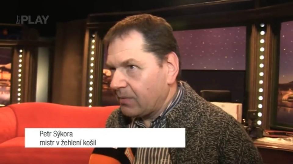 Mistr v žehlení Petr Sýkora - rozhovor