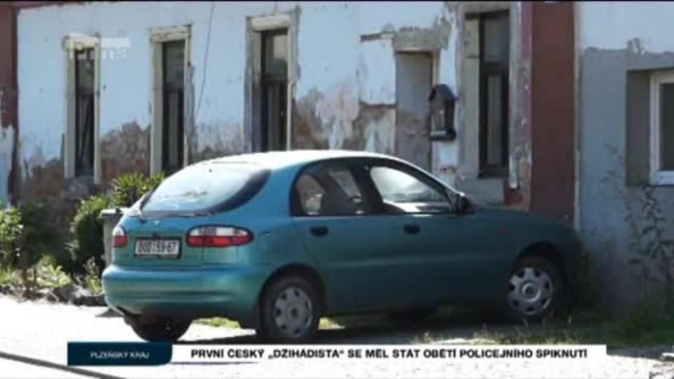 """První český """"džihádista"""" se měl stát obětí policejního spiknutí"""