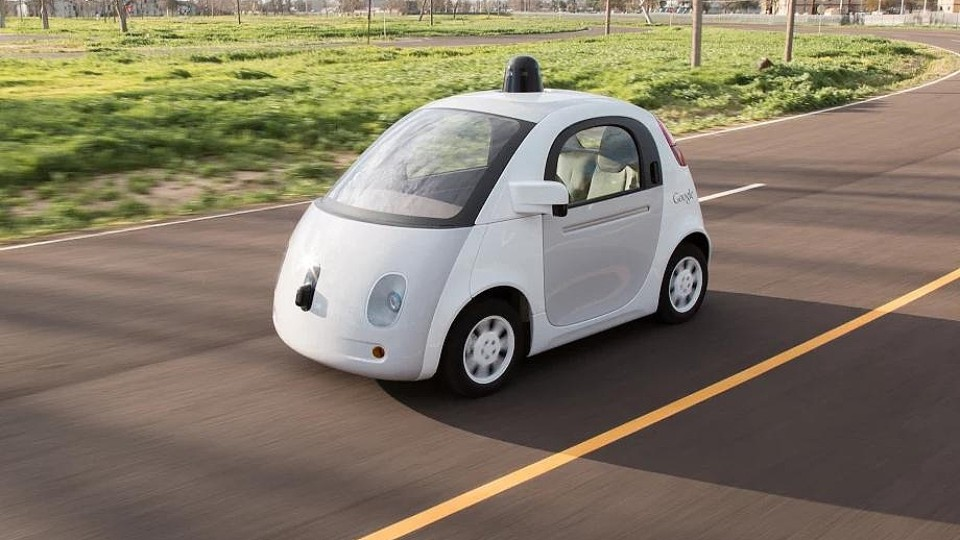 Google Car Autonomní
