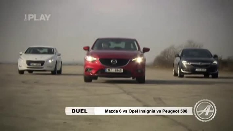 Mazda 6 vs Opel Insignia vs Peugeot 508 II