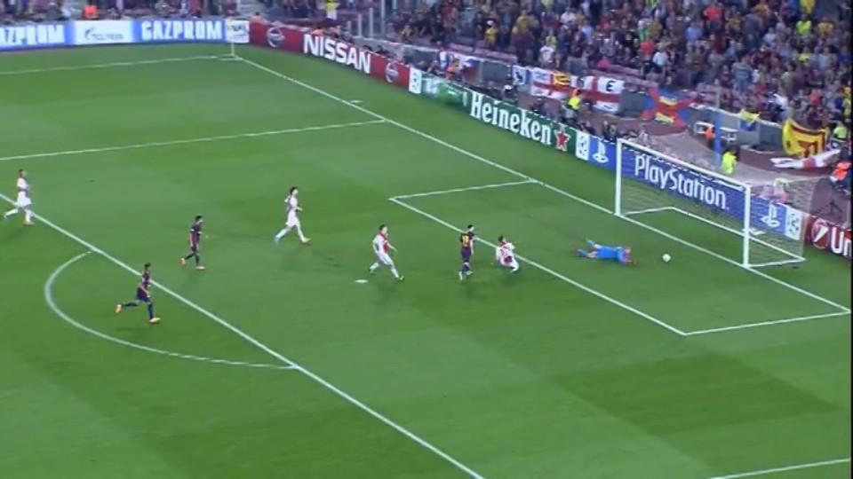 Gól - Messi 24 (21.10.2014)