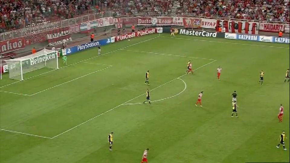 Sestřih zápasu - Olympiacos FC vs Atlético Madrid (16.9.2014)