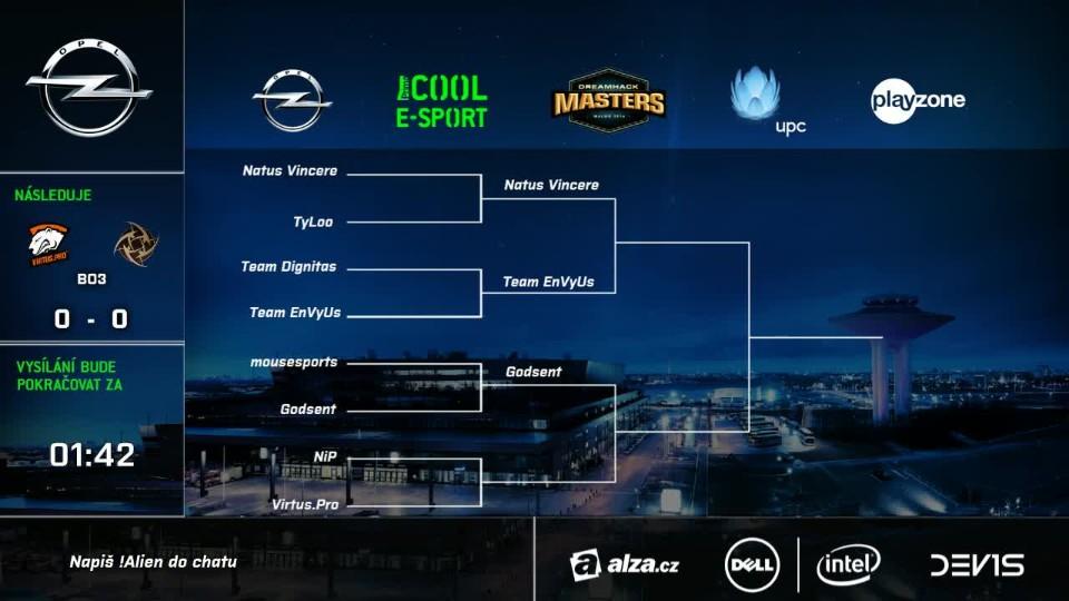 DH Masters: ČT - NiP vs Virtus.pro
