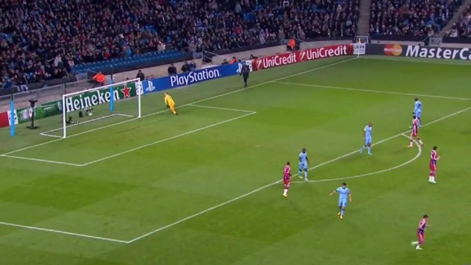 Sestřih zápasu - Man. City v Bayern (25.11.2014)