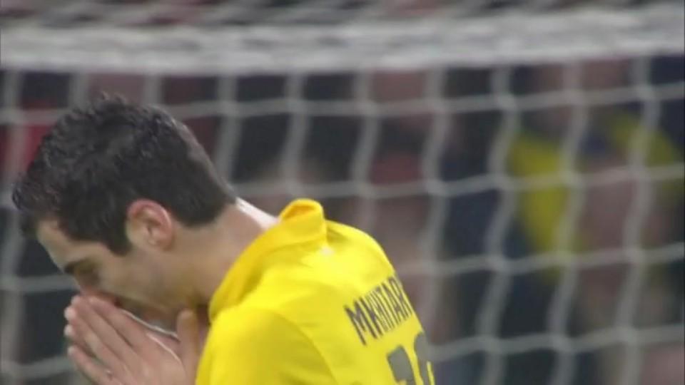 Sestřih zápasu - Arsenal v Dortmund (26.11.2014)