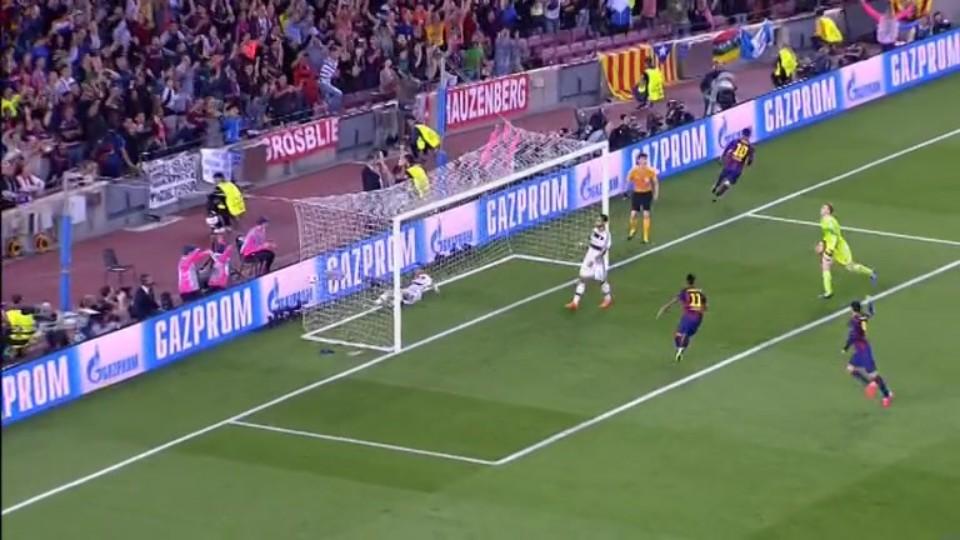 Gól - Messi 80 (5.5.2015)