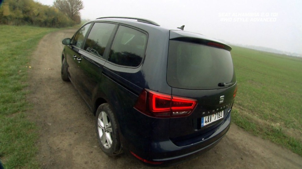 Seat Alhambra 2,0 TDI 4WD Style Advanced 7M