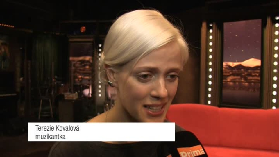 Muzikantka Terezie Kovalová v SJK