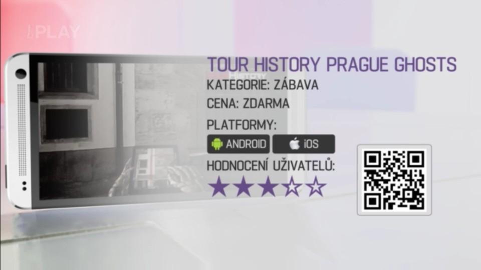 Prima Rádce - Aplikace PRAGUE GHOSTS