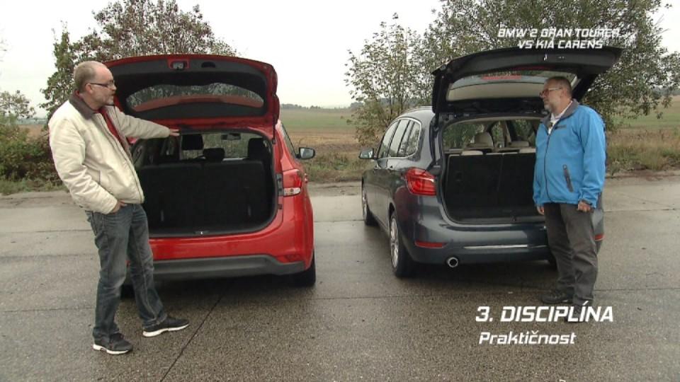 BMW 2 Gran Tourer vs Kia Carens