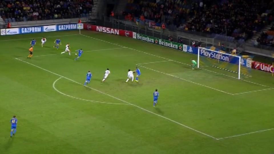 Gól - Luiz Adriano 44 (21.10.2014)