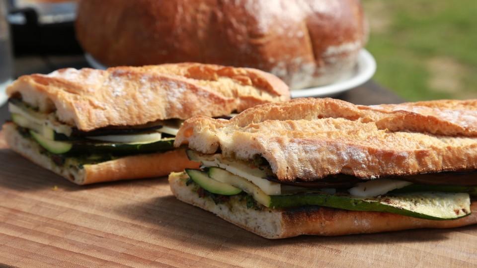 RTŠ! II (5) - Sendvič s grilovanou zeleninou a sýrem