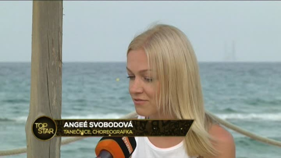TOP STAR 8.6.2016 - Angee Svobodová - Tunisko