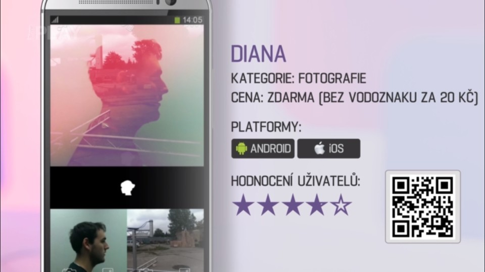 Prima Rádce - Aplikace DIANA