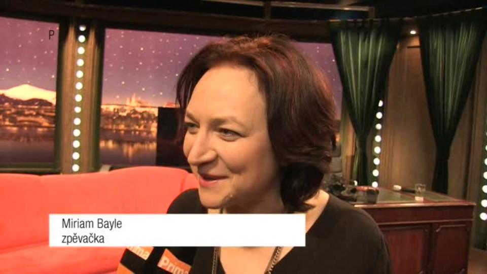Zpěvačka Miriam Bayle v SJK