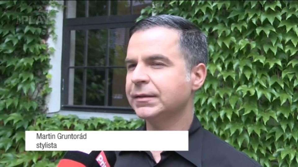 Stylista Martin Gruntorád - rozhovor před natáčením TGM