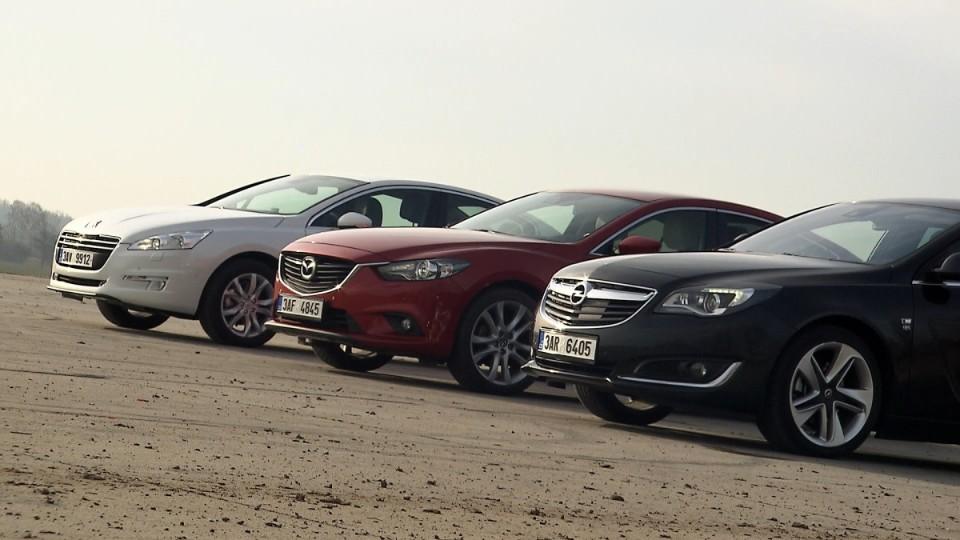 Mazda 6 vs Opel Insignia vs Peugeot 508 I
