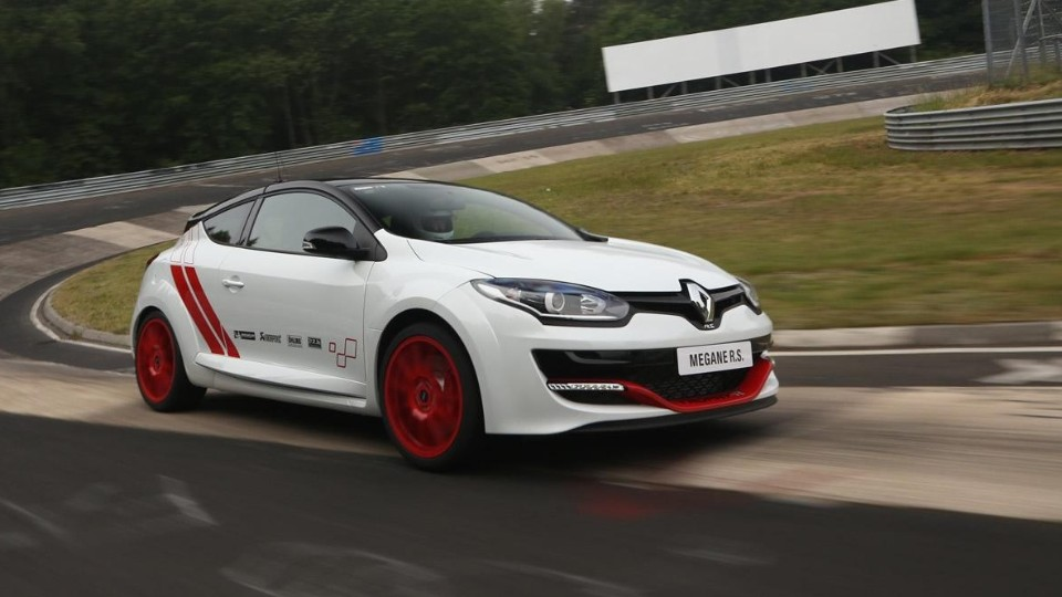 Rekord Renaultu na Nordschleife