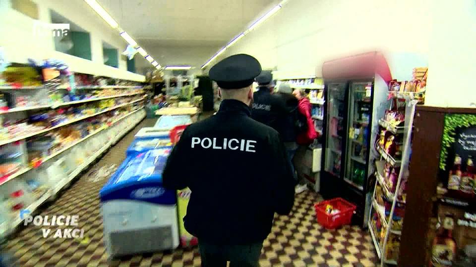 Zlevněné máslo - Policie v akci