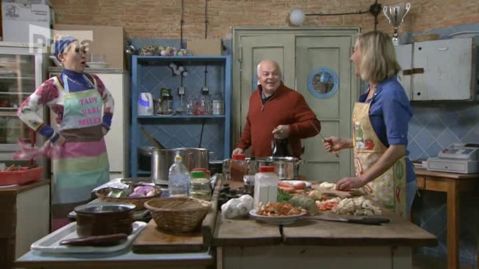 Přístav (55) – Mili a Jonáš v kuchyni