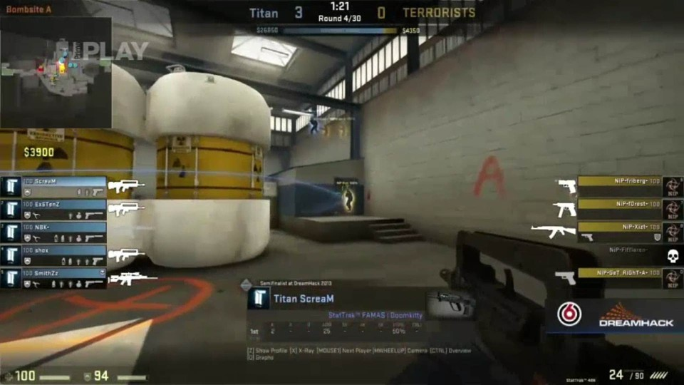 CS:GO Invitational Grand final - Titan vs. NiP