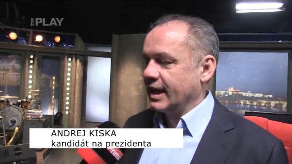 Andrej Kiska - rozhovor 21.3.2014