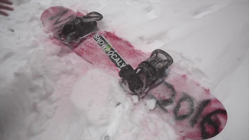 New Yorkem na snowboardu