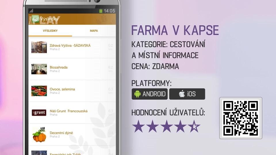 Prima Rádce - Aplikace FARMA V KAPSE
