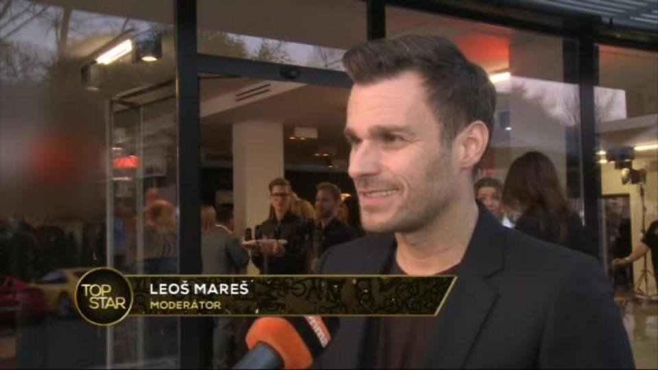 TOP STAR 15.4.2016 - Leoš Mareš - módní přehlídka