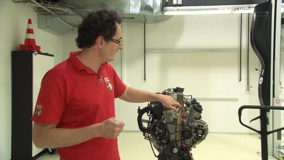 Preventivní servis automobilu - motor