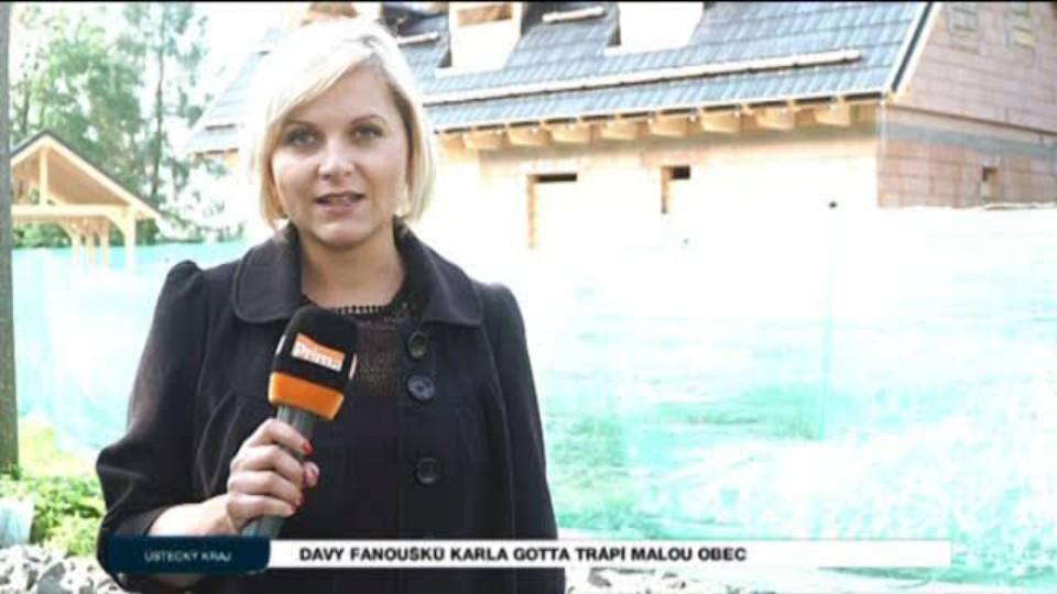 Davy fanoušků Karla Gotta trápí malou obec
