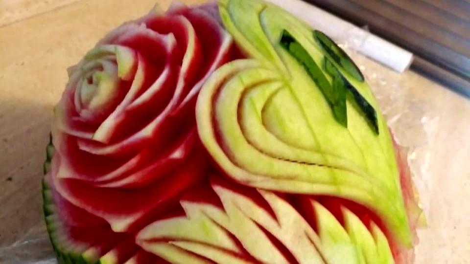 Vyřezávání ze zeleniny