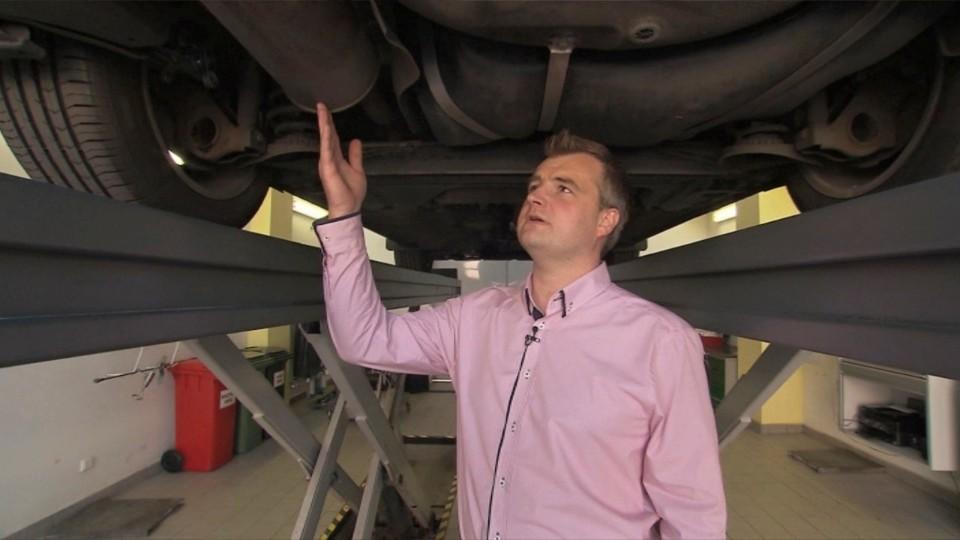Preventivní servis automobilu - výfukový systém