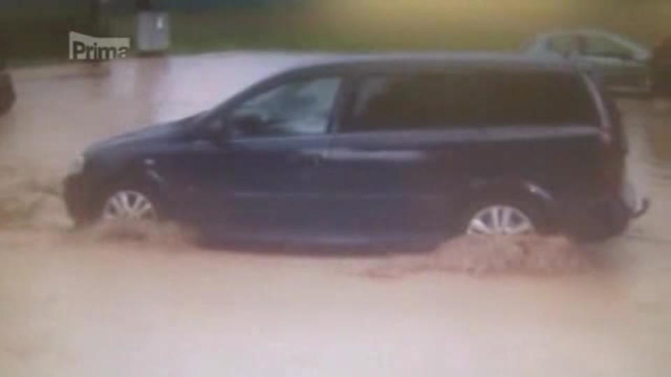 Bleskové povodně překvapily Plzeňsko.