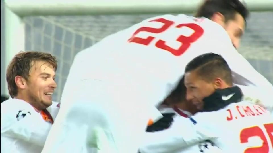 Gól - Totti 43 (25.11.2014)