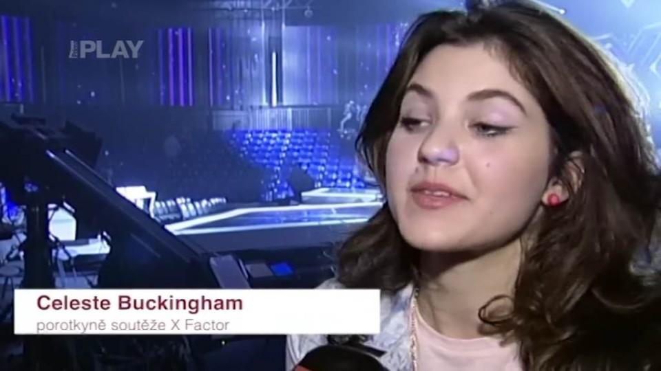 X Factor - Celeste Buckingham - rozhovor o 1. živém přenosu