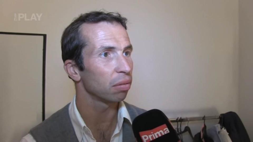 Radek Štěpánek - rozhovor před TGM