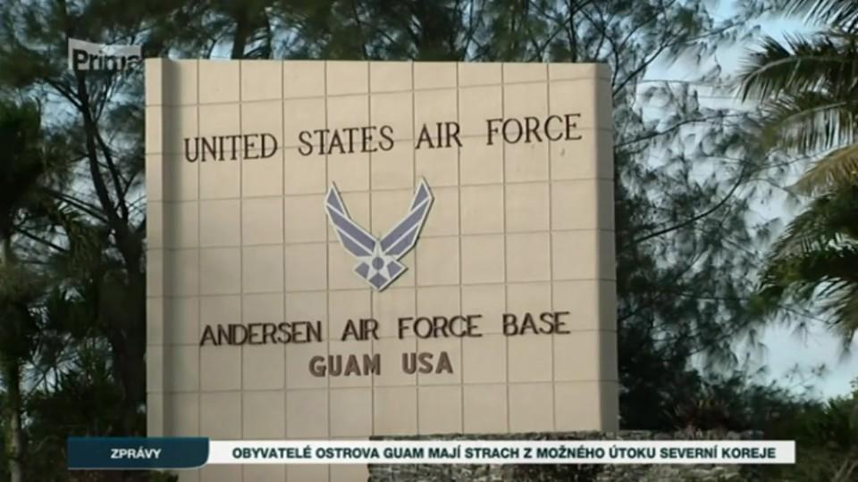 10. 8. 2017 ZPRÁVY: Obyvatelé ostrova Guam mají strach z možného útoku Severní Koreje