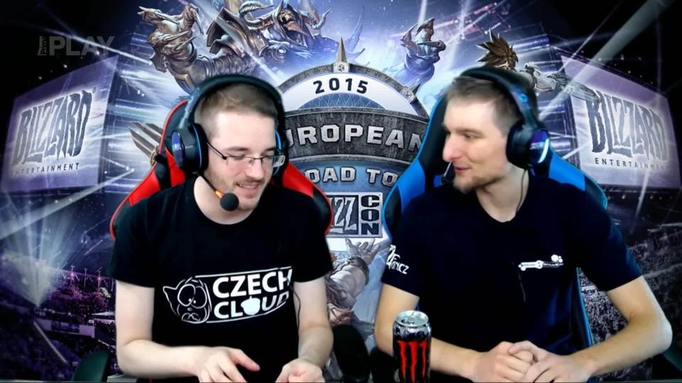 Road to BlizzCon 2015 - Neděle - HearthStone Grandfinále