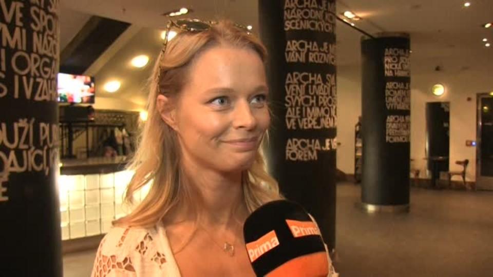 Modelka Helena Houdová v SJK