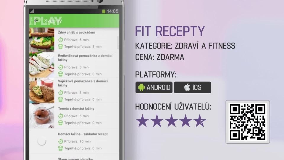 Prima Rádce - Aplikace FIT RECEPTY
