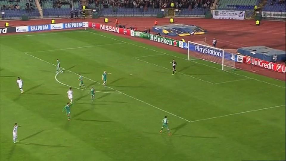 Sestřih zápasu - Ludogorets v Basel (22.10.2014)