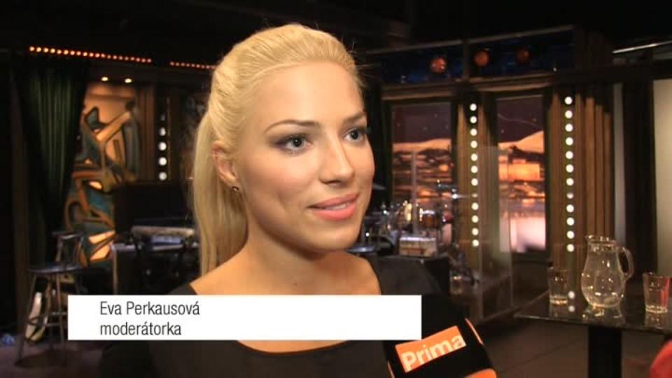 Moderátorka Eva Perkausová v SJK