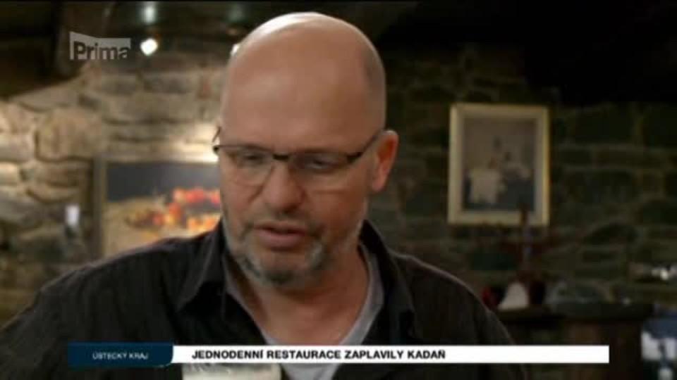 Jednodenní restaurace zaplavily Kadaň