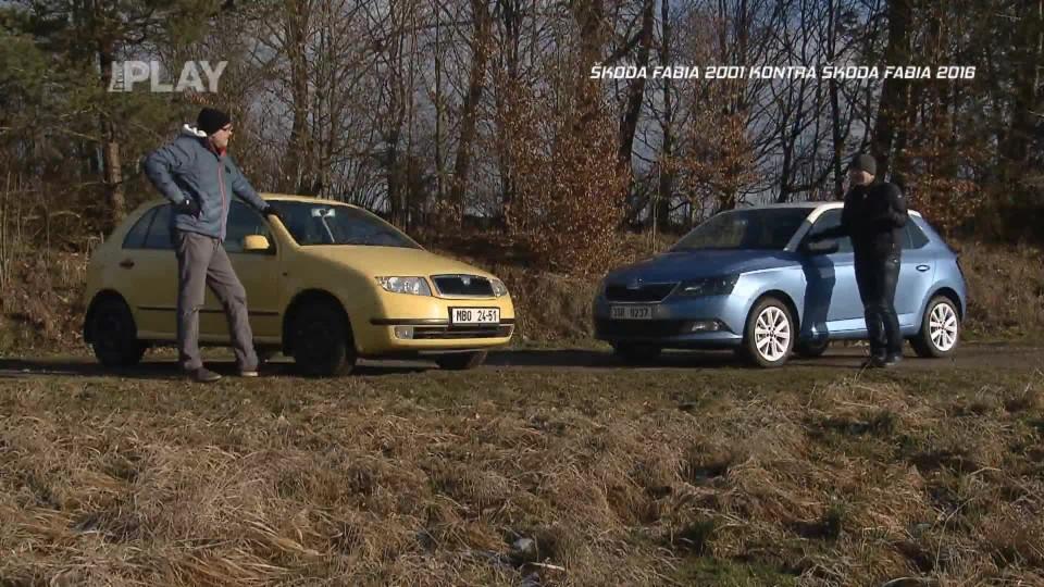 Škoda Fabia 2001 vs Škoda Fabia 2016