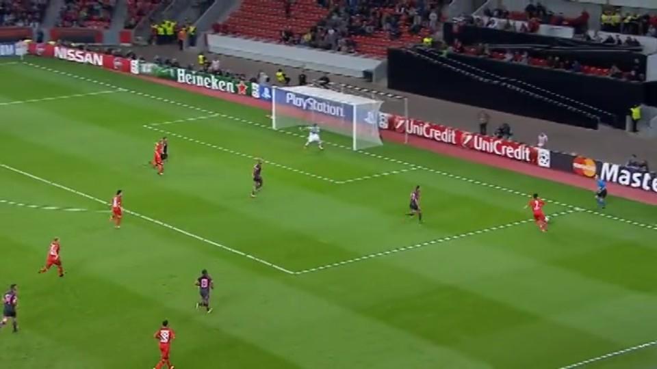 Sestřih zápasu - Leverkusen v Benfica (1.10.2014)