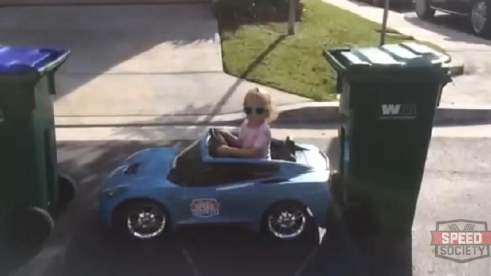 Parkování malé slečny budete milovat