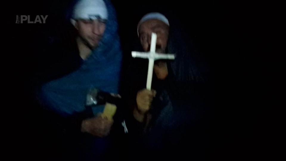 pohřeb Pátku v podání Pánů od Kolína  (téma pohádky)