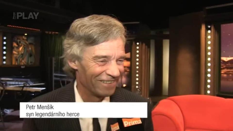 Syn legendárního herce Petr Menšík v SJK