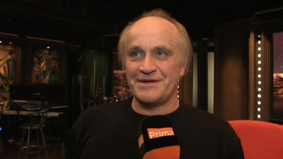Hudebník Michael Kocáb v SJK